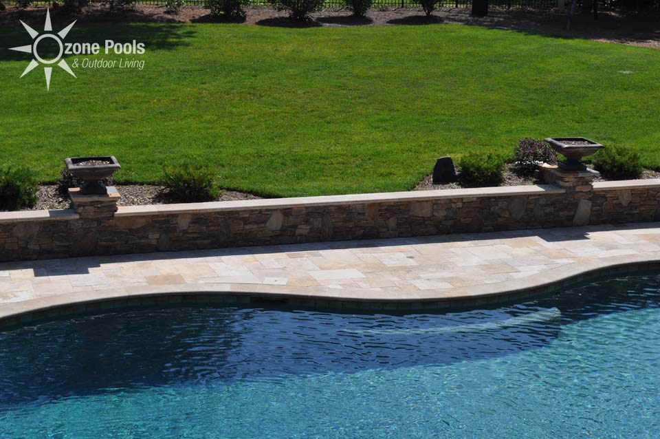 Featured fire bowls by ozone pools outdoor living - Pool fire bowls ...