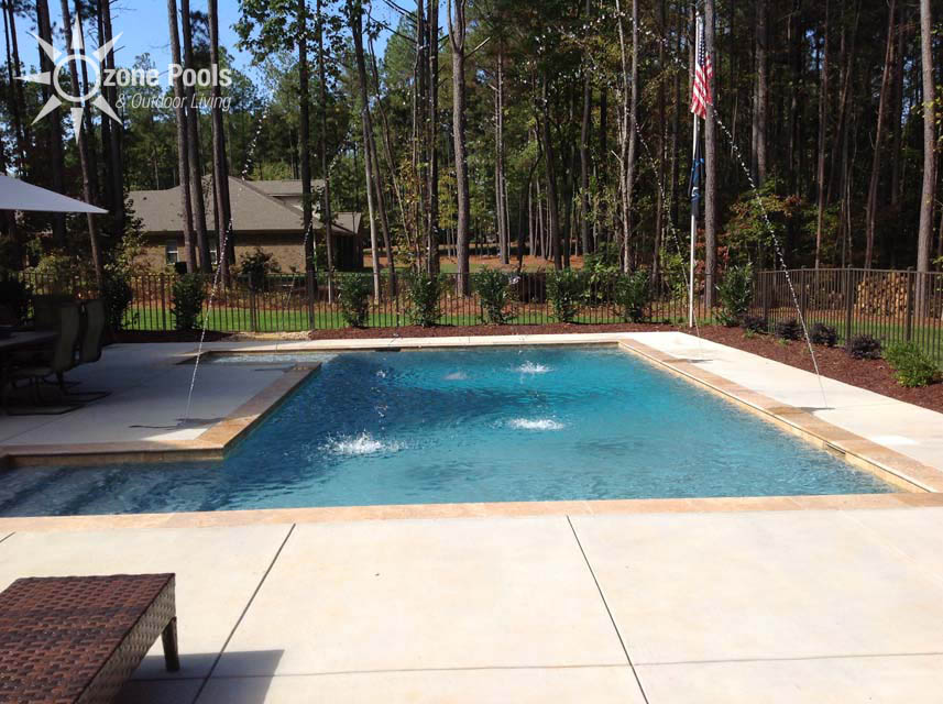 Featured pool spa project 11 for Best looking pools