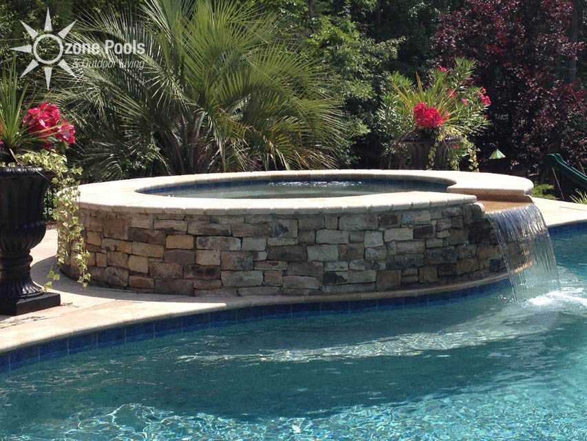 Featured Spa Spillways By Ozone Pools Amp Outdoor Living