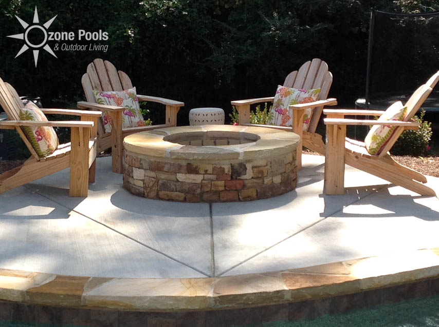 Featured Fire Pits By Ozone Pools Outdoor Living